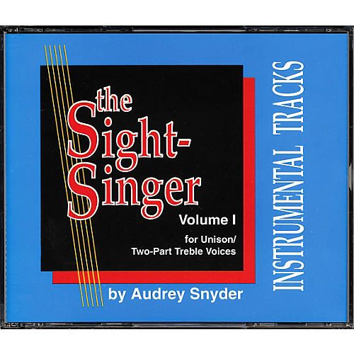 Alfred The Sight Singer Volume 1: Accompaniment CDs-thumbnail