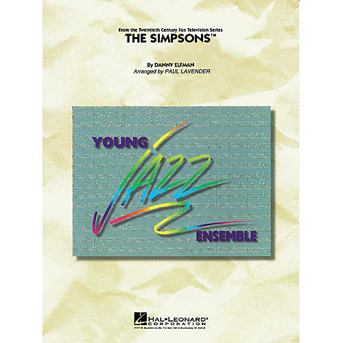 Hal Leonard The Simpsons Jazz Band Level 3 Arranged by Paul Lavender