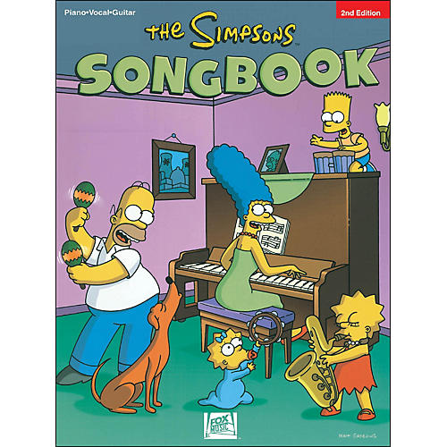 Hal Leonard The Simpsons Songbook 2nd Edition arranged for piano, vocal, and guitar (P/V/G)-thumbnail