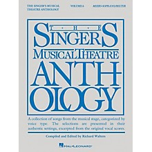 Hal Leonard The Singer's Musical Theatre Anthology: Mezzo-Soprano/Belter - Volume 6