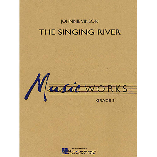 Hal Leonard The Singing River Concert Band Level 3 Composed by Johnnie Vinson-thumbnail