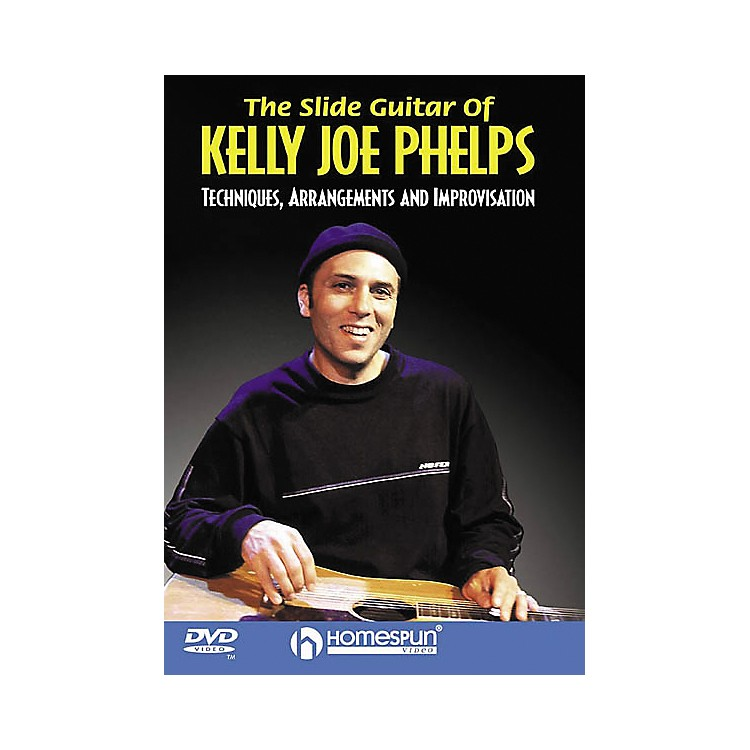Homespun The Slide Guitar of Kelly Joe Phelps (DVD)