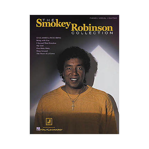 Hal Leonard The Smokey Robinson Collection Piano/Vocal/Guitar Artist Songbook