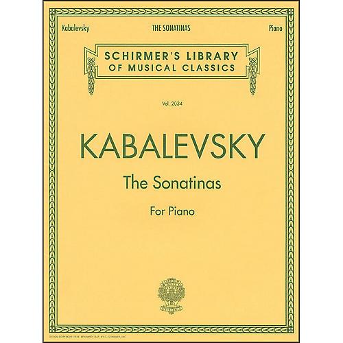 G. Schirmer The Sonatinas Op 13 No 1 & No 2 Piano By Kabalevsky