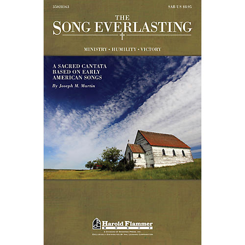 Shawnee Press The Song Everlasting (A Sacred Cantata based on Early American Songs) SAB composed by Joseph Martin-thumbnail