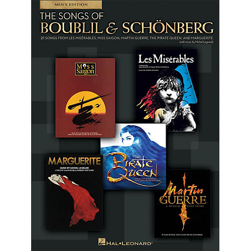 Hal Leonard The Songs Of Boublil And Sch¶nberg - Men's Edition-thumbnail