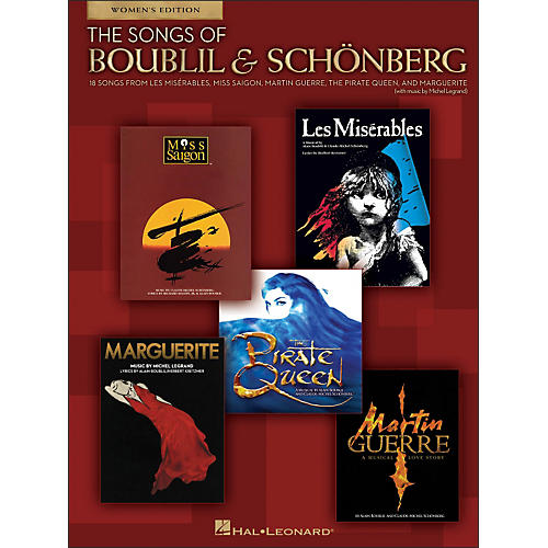 Hal Leonard The Songs Of Boublil And Schonberg - Women's Edition