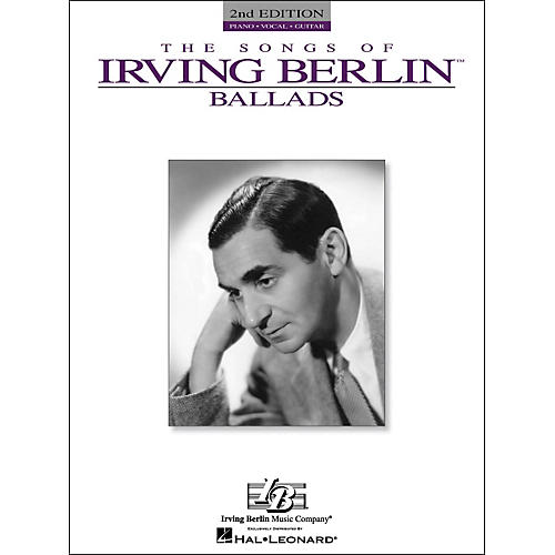 Hal Leonard The Songs Of Irving Berlin Ballads arranged for piano, vocal, and guitar (P/V/G)-thumbnail