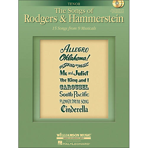 Hal Leonard The Songs Of Rodgers And Hammerstein for Tenor Voice-thumbnail
