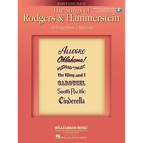 Hal Leonard The Songs Of Rodgers & Hammerstein for Baritone / Bass Voice
