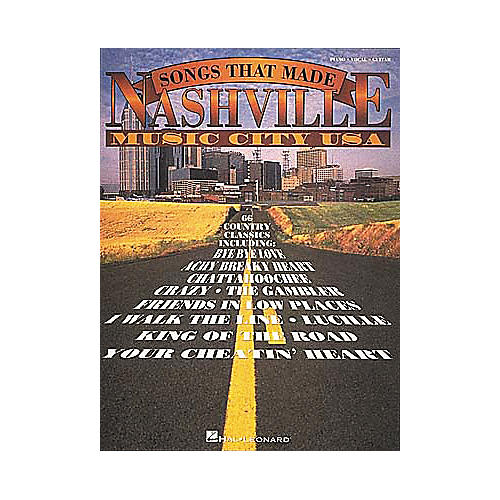 Hal Leonard The Songs That Made Nashville Music City USA Revised Songbook-thumbnail