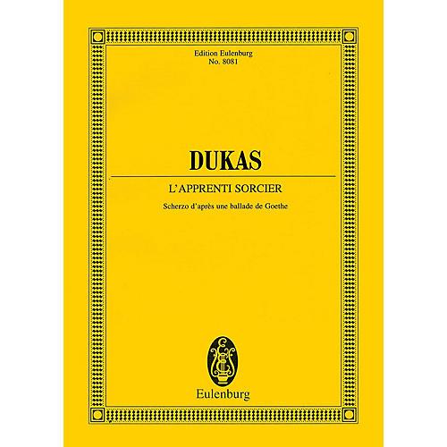 Eulenburg The Sorcerer's Apprentice [L'Apprenti Sorcier] (Study Score) Study Score Series Softcover by Paul Dukas-thumbnail