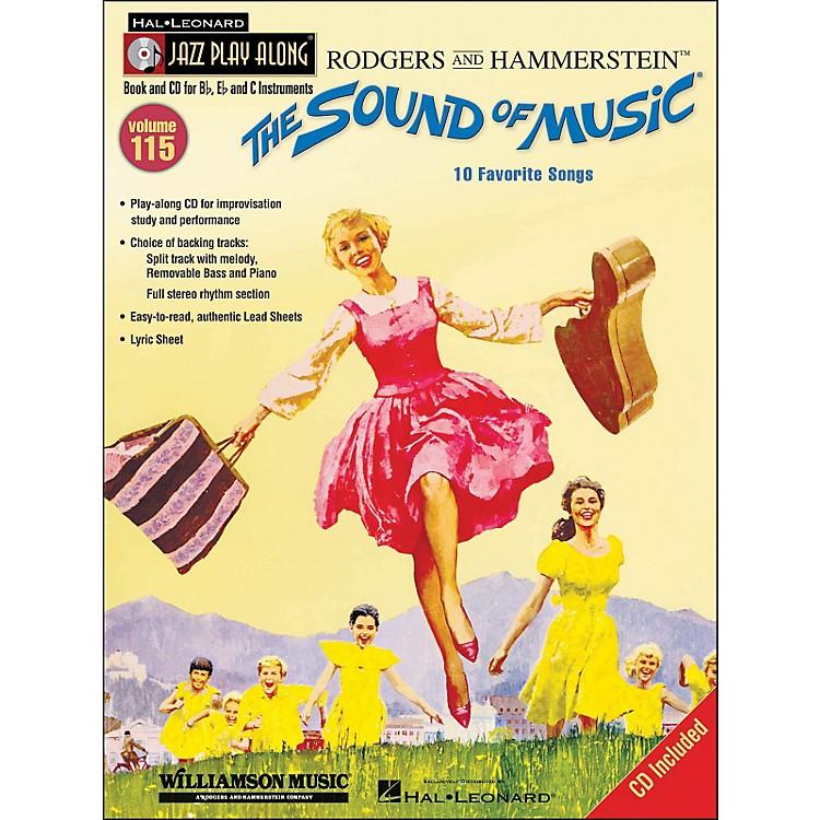 Hal LeonardThe Sound Of Music - Jazz Play-Along Volume 115 (CD/Pkg)