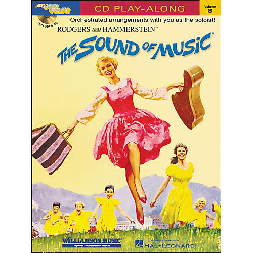 Hal Leonard The Sound Of Music E-Z Play Today CD Play-Along Volume 8-thumbnail