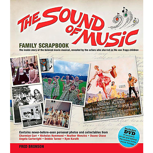 Hal Leonard The Sound Of Music Family Scrapbook - The Inside Story Of The Beloved Movie Musical-thumbnail