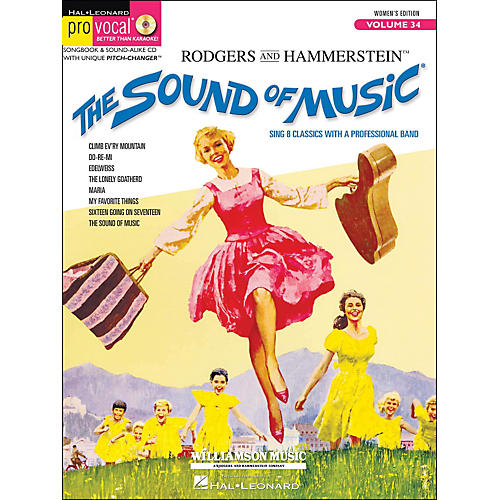 Hal Leonard The Sound Of Music Pro Vocal Series for Female Singers Volume 34 Book/CD