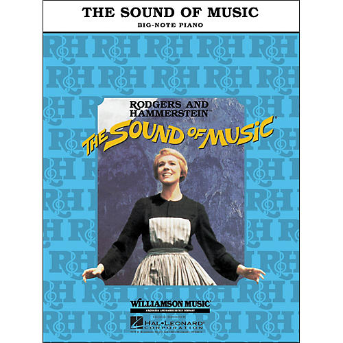 Hal Leonard The Sound Of Music for Big Note Piano-thumbnail