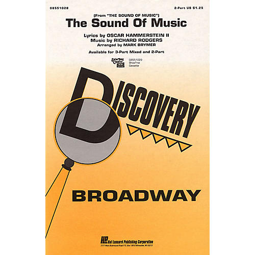 Hal Leonard The Sound of Music 2-Part arranged by Mark Brymer-thumbnail