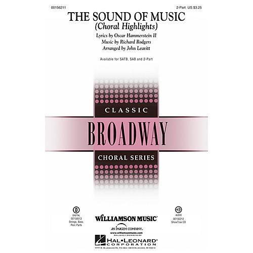 Williamson Music The Sound of Music (Choral Highlights) SSA by Julie Andrews arranged by John Leavitt-thumbnail