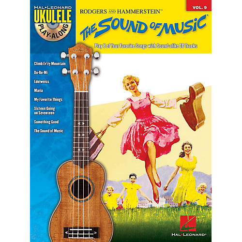 Hal Leonard The Sound of Music (Ukulele Play-Along Volume 9) Ukulele Play-Along Series Softcover with CD-thumbnail