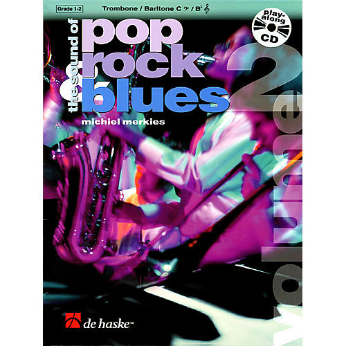 De Haske Music The Sound of Pop, Rock, Blues - Volume 2 (Book/CD Packs) De Haske Play-Along Book Series-thumbnail