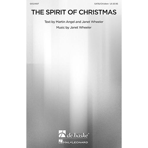 De Haske Music The Spirit of Christmas SATB/CHILDREN'S CHOIR composed by Janet Wheeler-thumbnail