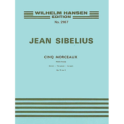Wilhelm Hansen The Spruce (Five Pieces), Op. 75, No. 5 Music Sales America Series-thumbnail