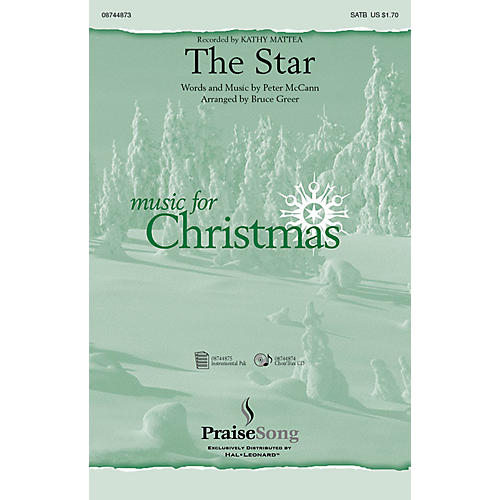 PraiseSong The Star CHOIRTRAX CD by Kathy Mattea Arranged by Bruce Greer
