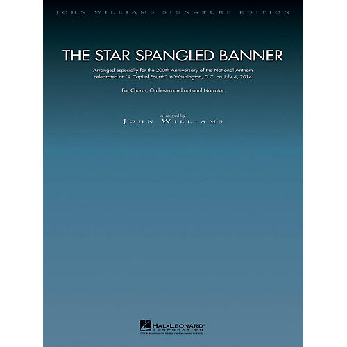 Hal Leonard The Star Spangled Banner - 200th Anniversary Edition Arranged by John Williams