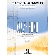 Hal Leonard The Star Spangled Banner Concert Band Level 2-3 Arranged by Michael Sweeney