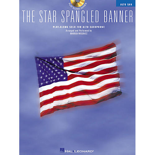 Hal Leonard The Star Spangled Banner (Play-Along Solo for Alto Saxophone) Instrumental Folio Series Book with CD-thumbnail