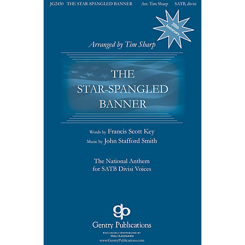 Gentry Publications The Star-Spangled Banner TTBB A Cappella Arranged by Tim Sharp-thumbnail