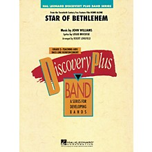 Hal Leonard The Star of Bethlehem (from Home Alone) - Discovery Plus Band Level 2 arranged by Robert Longfield