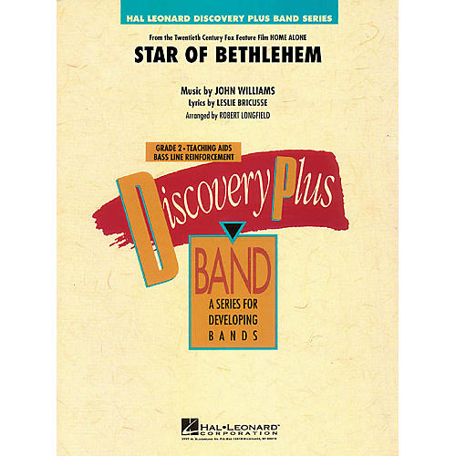 Hal Leonard The Star of Bethlehem (from Home Alone) - Discovery Plus Band Level 2 arranged by Robert Longfield-thumbnail