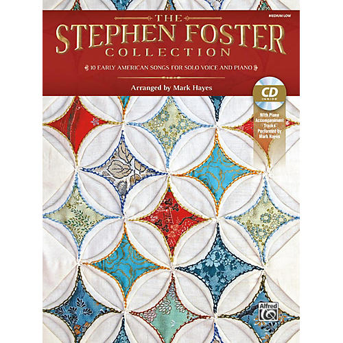 Alfred The Stephen Foster Collection Book & Acc CD Medium Low-thumbnail