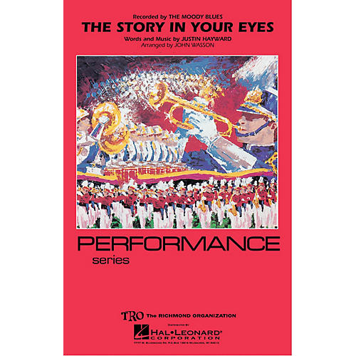 Hal Leonard The Story in Your Eyes Marching Band Level 4 Arranged by John Wasson