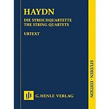 G. Henle Verlag The String Quartets Henle Study Scores Series Composed by Joseph Haydn Edited by Sonja Gerlach