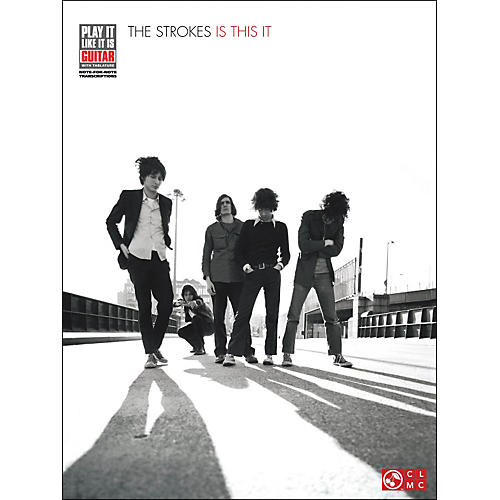 Cherry Lane The Strokes - Is This It Tab Book-thumbnail