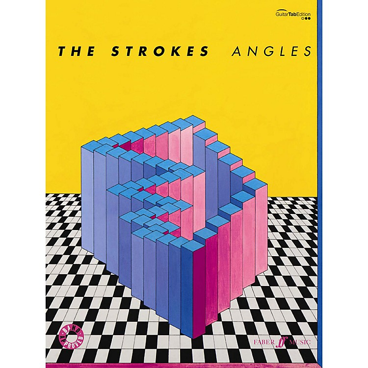 Alfred The Strokes Angles Guitar TAB Book