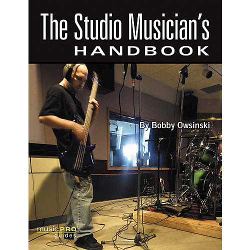 Hal Leonard The Studio Musician's Handbook (Book/DVD)