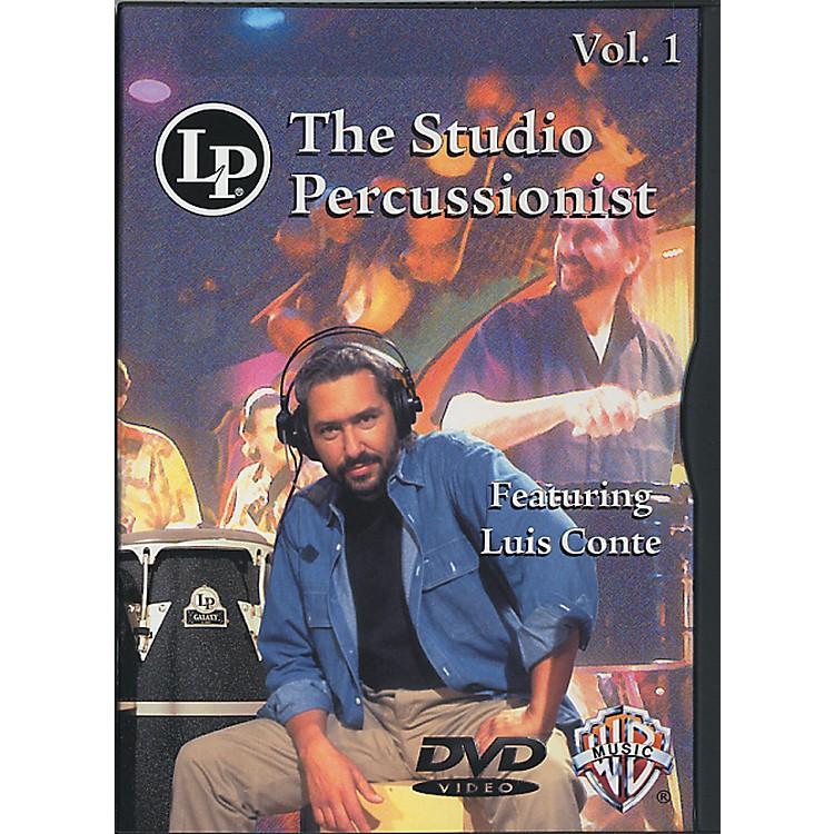 LPThe Studio Percussionist Vol. 1 featuring Luis Conté DVD