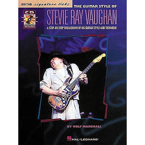 Hal Leonard The Style of Stevie Ray Vaughan Guitar Signature Licks Book with CD