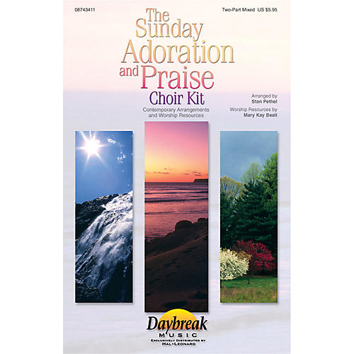 Hal Leonard The Sunday Adoration And Praise Choir Kit Preview Pak Arranged by Stan Pethel-thumbnail