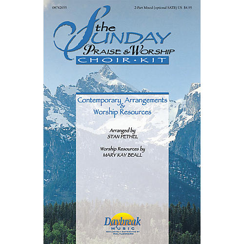 Daybreak Music The Sunday Praise & Worship Choir Kit (Collection) COMPLETE KIT Arranged by Stan Pethel-thumbnail