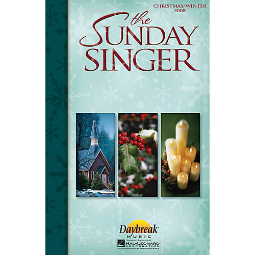 Daybreak Music The Sunday Singer - Christmas/Winter 2008 Accompaniment CD-thumbnail