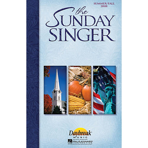 Daybreak Music The Sunday Singer - Summer/Fall 2008 CHOIRTRAX CD-thumbnail