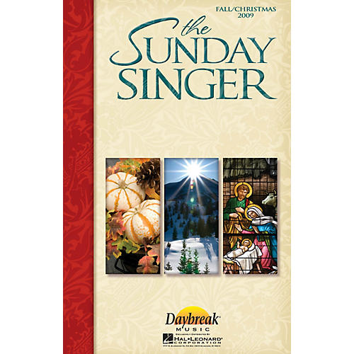 Daybreak Music The Sunday Singer (Fall/Christmas 2009) CHOIRTRAX CD-thumbnail