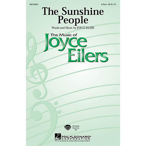 Hal Leonard The Sunshine People ShowTrax CD Composed by Joyce Eilers-thumbnail