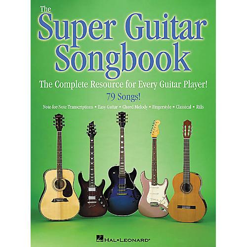 Hal Leonard The Super Guitar Songbook Guitar Tab Book