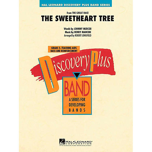 Hal Leonard The Sweetheart Tree Concert Band Level 2-thumbnail